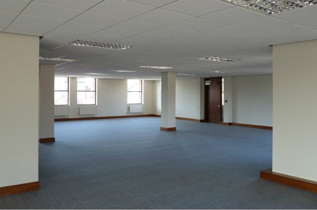 Office block refurbishment b melling building for Office fitters