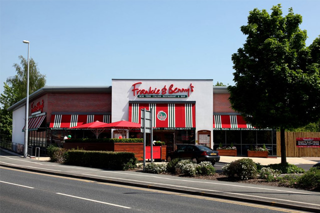 New design build frankie benny restaurant b melling